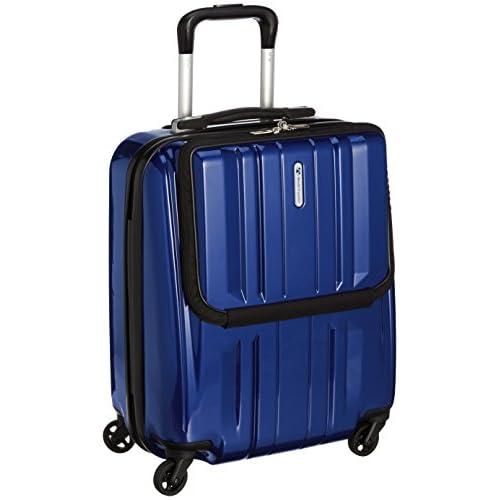 [ワールド トラベラー] World Traveler アマゾン限定 ACEコラボ特別企画 ペンタクォーク ストッパー付スーツケース46cm・2.9kg・32リットル・TSAロック搭載・機内持ち込みサイズ 05661 03 (ネイビー)