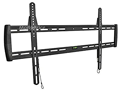 Monoprice Fixed Wall Mount Bracket for LCD LED Plasma (Max 200 lbs, 37~63 inch)