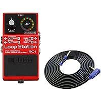 BOSS コンパクトエフェクター Loop Station RC-1 + 3m ギターケーブル VOX VGS-30 セット[マークスミュージック・オリジナル]