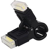 Beautyrain 1個 USB充電式自転車リアライト テールライトは簡単にクランプされています バイクの安全性を向上させる