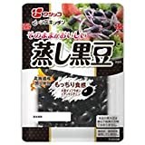 フジッコ そのままがおいしい 蒸し黒豆 65g×10袋入