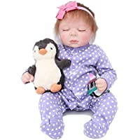 WamDoll 20インチTruly Real Gentle Touch Sleeping Rebornベビー人形Look Real , May God Bless You