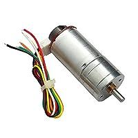 工業用 エンコーダ ギヤモータ 多種選択 減速機 磁気 ディスク 符号化 - DC24V;250RMP