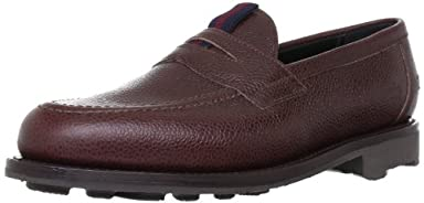 Sanders Grain Loafer 9490: Brown