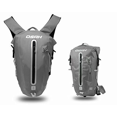 CYCLINGNET 防水(IPX6)パック DRY PAK バックパック ロードバイク 自転車 サイクリング用 (B14603-GRAY)