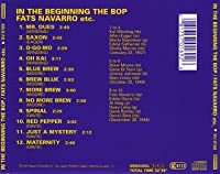 In the Beginning Bebop
