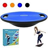 Sukudonバランスボード 体幹 トレーニング 滑り止め 持ち運びやすい 円形 直径40cm (ブルー)