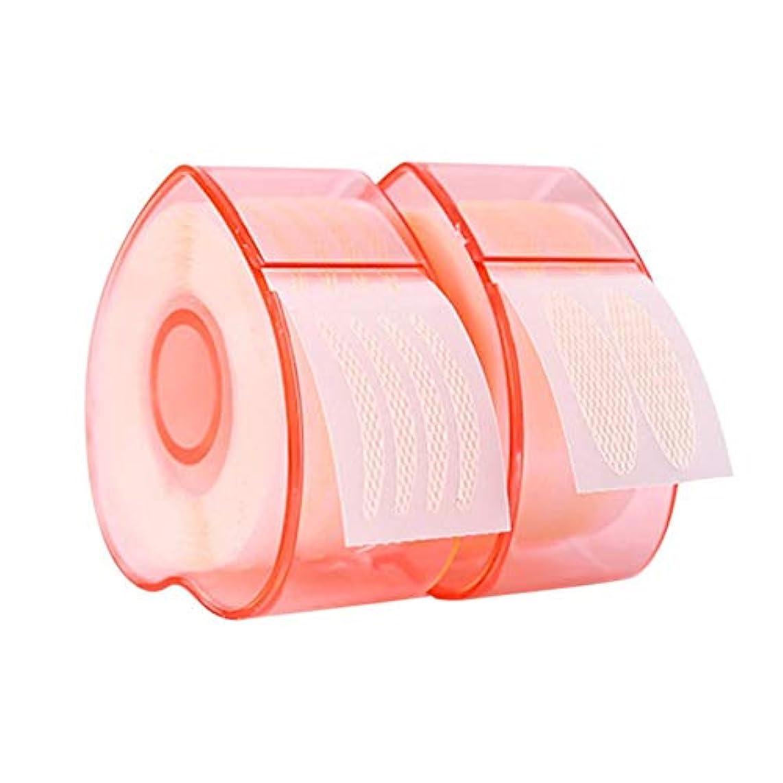Licentury 二重まぶたステッカー 二重まぶたテープ 見えない レース テープロール 通気性 防水 ナチュラル 魅力的 2タイプ