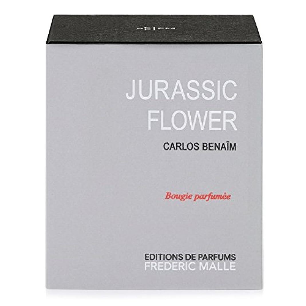 デンマーク粘り強い古くなったFrederic Malle Jurassic Flower Scented Candle 220g - フレデリック?マルジュラ紀の花の香りのキャンドル220グラム [並行輸入品]