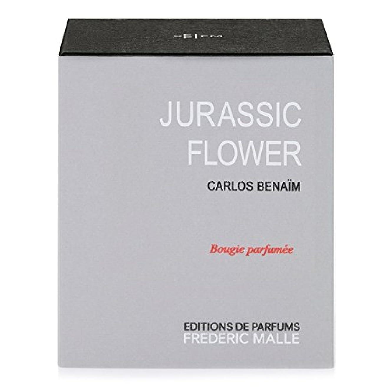 事前冷蔵する平らなフレデリック?マルジュラ紀の花の香りのキャンドル220グラム x6 - Frederic Malle Jurassic Flower Scented Candle 220g (Pack of 6) [並行輸入品]