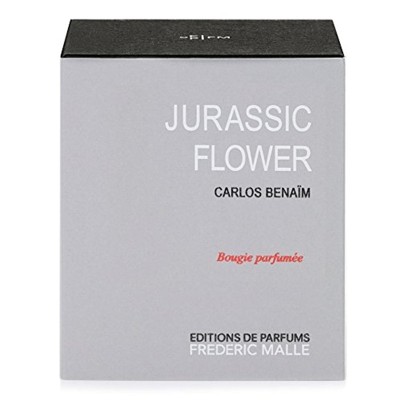 緑小屋切り下げFrederic Malle Jurassic Flower Scented Candle 220g - フレデリック?マルジュラ紀の花の香りのキャンドル220グラム [並行輸入品]