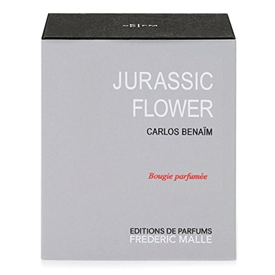 悲しみ上がるスチールフレデリック?マルジュラ紀の花の香りのキャンドル220グラム x6 - Frederic Malle Jurassic Flower Scented Candle 220g (Pack of 6) [並行輸入品]