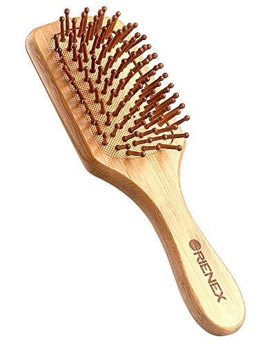 Orienex ヘアブラシ 櫛 木製 美髪ケア 頭皮&肩&顔マッサージ (小)