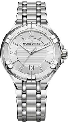Maurice Lacroix aikon ai1004-ss002–130–1腕時計の女性スイス製