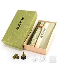 日本香堂のお香 白檀の定番 毎日白檀香 コーン型24個入