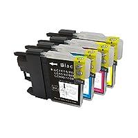 【FJショップ】brother ブラザープリンターインク [IB5-set] MFC-J850DN/DWN用 互換インクカートリッジ 純正11互換 LC11-4PK お徳用4色パック (純正同様の顔料/染料インク)
