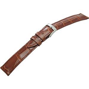 [モレラート]Morellato VOLTERRA ボルテラ 時計ベルト 16mm ゴールドブラウン アリゲーター時計ベルト U0856 056 041 016