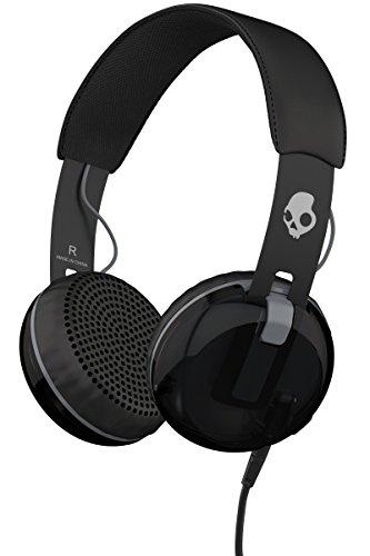 【国内正規品】 Skullcandy スカルキャンディー オンイヤー型ヘッドホン GRIND グラインド GRIND BLACK ブラック A5GRHT-448