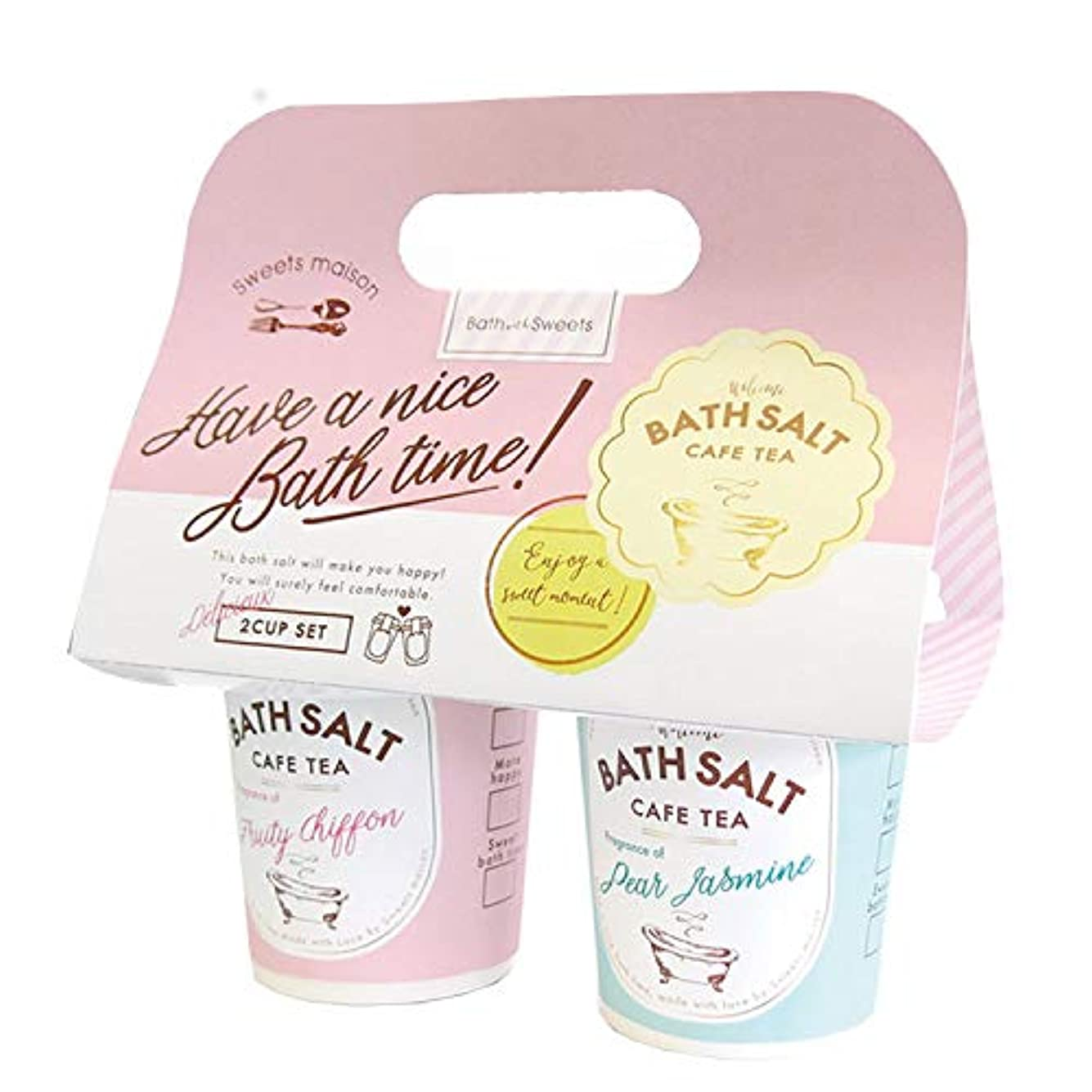 おばあさんタワー昼間ノルコーポレーション sweets maison OB-SMM-49-1 カフェティーバスソルト2カップセット ギフト [297987]