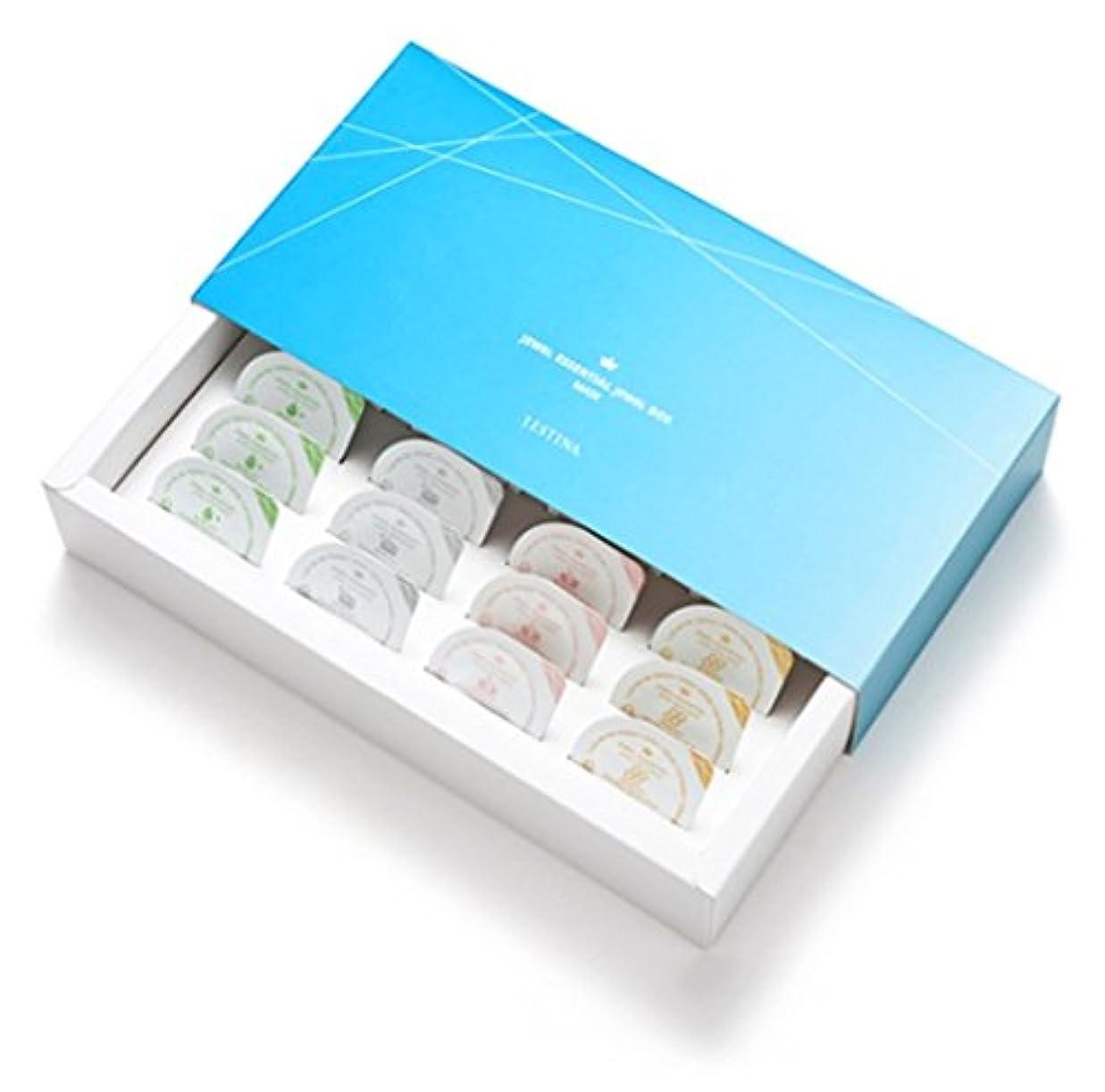汚染公爵約(ジェイエスティナ) J.ESTINA Jewel essential jewel box mask 1set (16ea) JCSFMA7A202800000 (海外直送品)