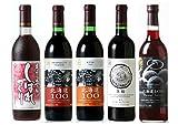 【プレゼントワイン付き】 はこだてわいん 赤ワイン5種飲み比べセット [ 720mlx5本 ]