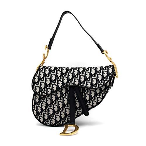 Dior(ディオール)ショルダーバッグ ハンドバッグ クラッチバッグ ウエストバッグ ミニバッグ 刺繍入りキャンバス SADDLE [並行輸入品]