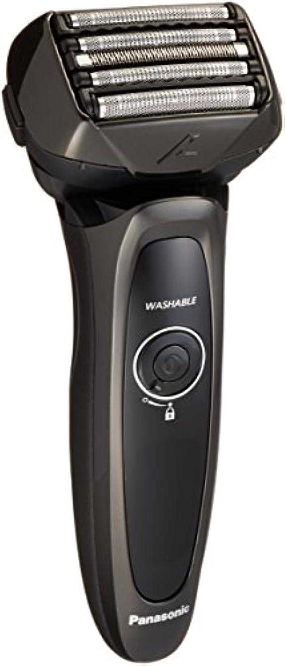 ほこり楽しむクロスパナソニック ラムダッシュ メンズシェーバー 5枚刃 黒 ES-LV54-K