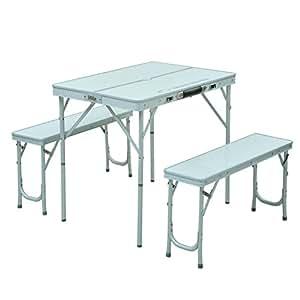 キャンパーズコレクション ユニシステーブルセット4 SYS-4(WH)