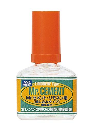 Mr.セメント リモネン系 40ml 流し込みタイプ MC130