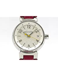 (ルイヴィトン) LOUIS VUITTON 腕時計 タンブール ホログラム ユニセックス時計 SS/革 Q1313 中古