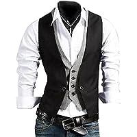 ideal4dress Men's Slim Fit Skinny Dress