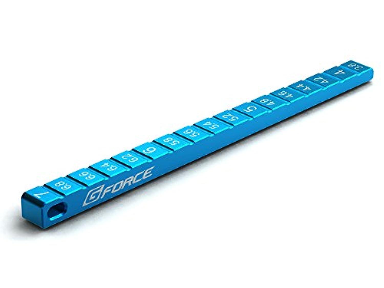 Ride Height Gauge 3.8-7.0mm(ライドハイトゲージ 3.8~7.0mm)(ブルー)