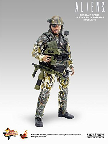 HotToys Movie Masterpiece Aliens 12 Inch Model Figure Sergeant Apone