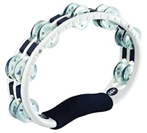 MEINL Percussion マイネル タンバリン Traditional ABS Tambourine Aluminum Jingles White TMT1A-WH 【国内正規品】