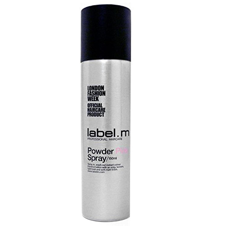 ベース意識的配置Label.M Professional Haircare ラベルMパウダーピンクの5オズ(150ミリリットル)をスプレー 5オンス
