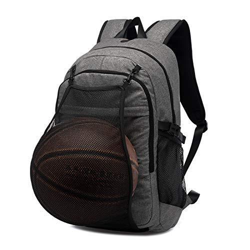 GOHIGH バッグパック バスケットボール バッグ ボールバッグ 15.6インチパソコン適応 軽量 防水 大容量 通勤通学 旅行 男女通用