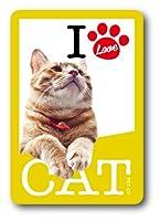 PET-07 I LOVE CAT!ステッカー07 ステッカー 猫好きの方に!