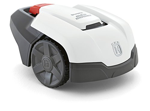 【Amazon.co.jp限定】ハスクバーナ ロボット 芝刈機 Automower105 ホワイトボディ ・ Sキット アマゾン限定セット