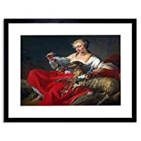 Painting Allegory France Pierre Favourite Lamb Framed Wall Art Print