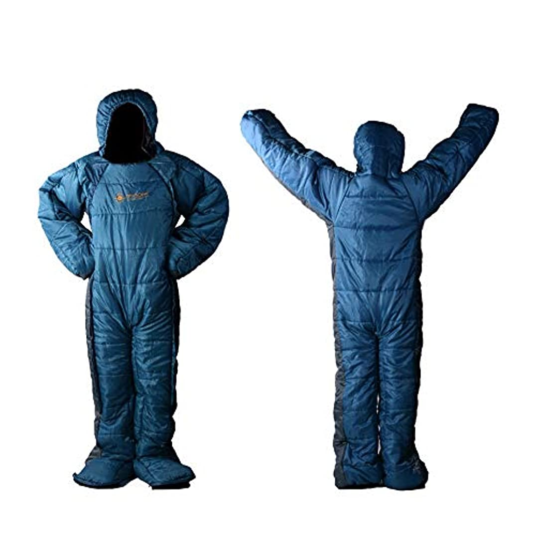 MAXSOINS公式ショップ 人型寝袋 シュラフ 歩ける寝袋 冬用 [適応身長160cm~180cm] MSP-002