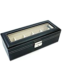 ノーブランド品 腕時計 コレクションボックス レザー 収納ケース 時計5本収納 RWBSW1679