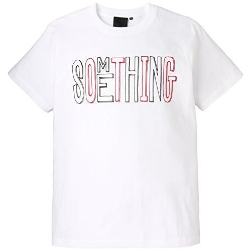 (ビームスティー) BEAMS T BEAMS T / プリント Tシャツ 11082480146 1 WHITE/SOMETHING M