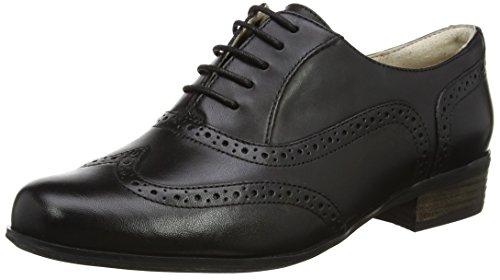 [クラークス] Clarks レースアップシューズ Hamble Oak 20346713 Black Leather (ブラックレザー/UK 5)