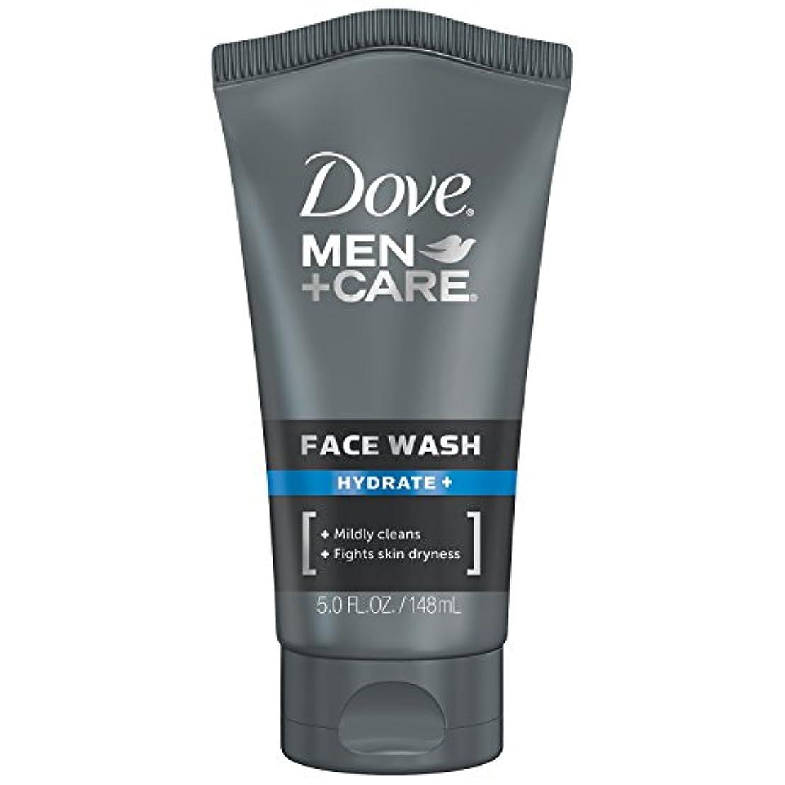 花婿フェザー式Dove Men+Care フェイスウォッシュ 保湿+ 147.9ml (5オンス) 147.9ml (5オンス)