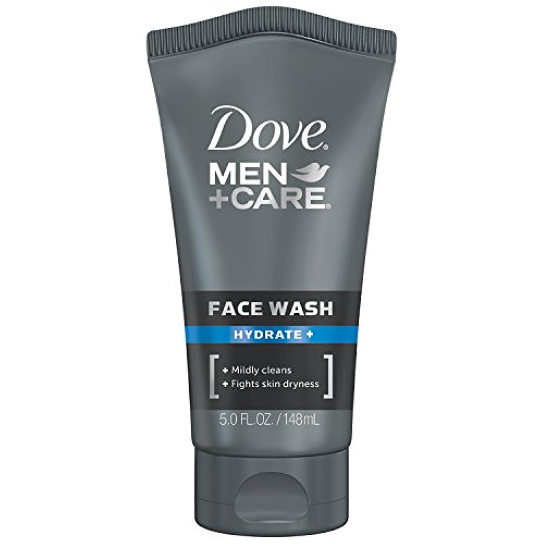 無関心浸す記念品Dove Men+Care フェイスウォッシュ 保湿+ 147.9ml (5オンス) 147.9ml (5オンス)