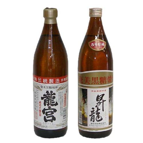 奄美黒糖焼酎 龍宮 30度900ml 瓶2本 昇龍30度90...