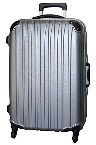 ビータス スーツケース BH-F1000 TSAロック 軽量 アルミフレーム 一年修理保証 [L/E-SL] Lサイズ エンボスシルバー