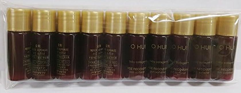 必要としているフィット遺体安置所[サンプル] OHUI Age Recovery Skin Softener 5ml×10ea/オフィ エイジ リカバリー スキン ソフナー 5ml×10個 [並行輸入品]