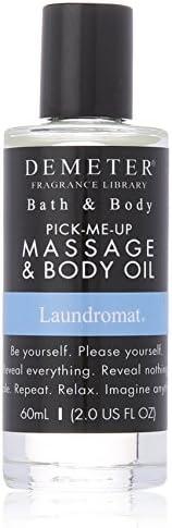 Demeter Laundromat by Demeter for Unisex - 2 oz Massage & Body Oil, 6