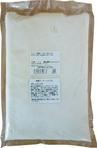 業務用 冷凍 じーまーみとうふ 1kg×1袋 ハドムフードサービス プリンのような食感のもちもちピーナッツ豆腐 沖縄スイーツ